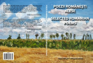 """Selected Romanian Poems"" Book Cover"