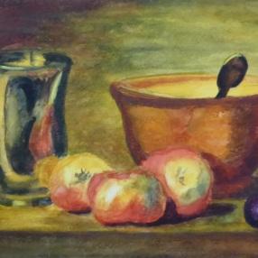 Still LIfe (after Jean-Baptiste-Siméon Chardin)