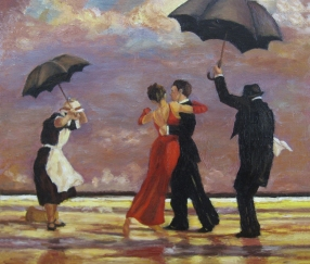 The Singing Butler (after Jack Vettriano)