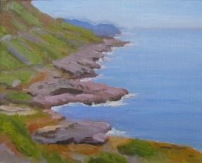 Distant Ocean Shore