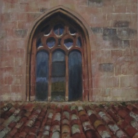 Window on a Cathedral Roof