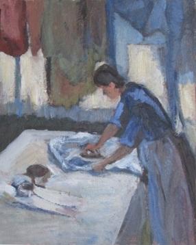 Iron Woman (after Degas)