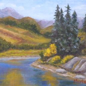 A Mountain Lake